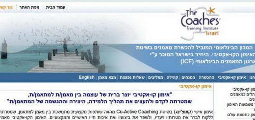 מכון CTI ישראל להכשרת מאמנים אישי