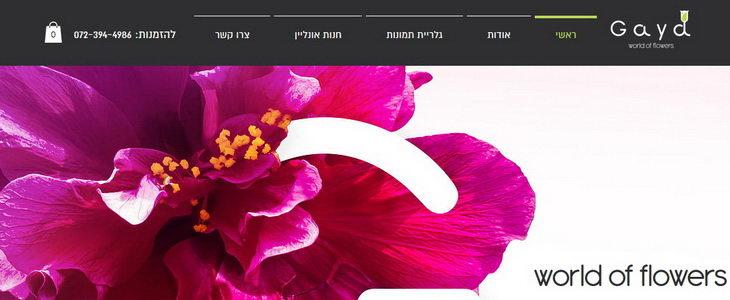 גאיה - משלוחי פרחים בירושלים