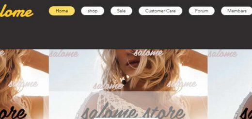 חנות אופנה salome