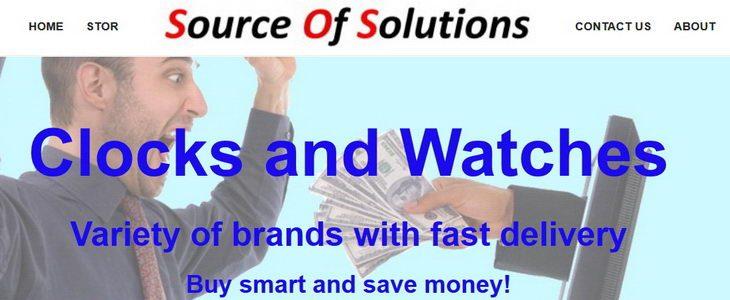 שעונים - Source Of Solutions